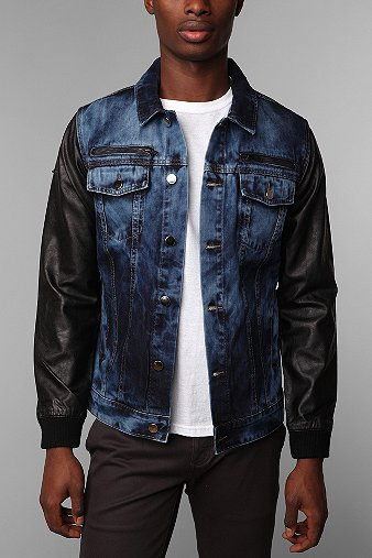 Denim Jacket Leather | Outdoor Jacket