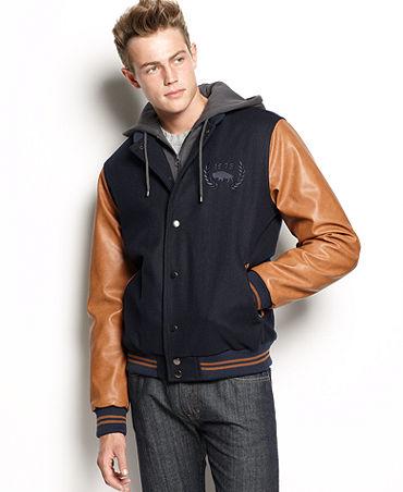 Bomber Varsity Jacket - JacketIn