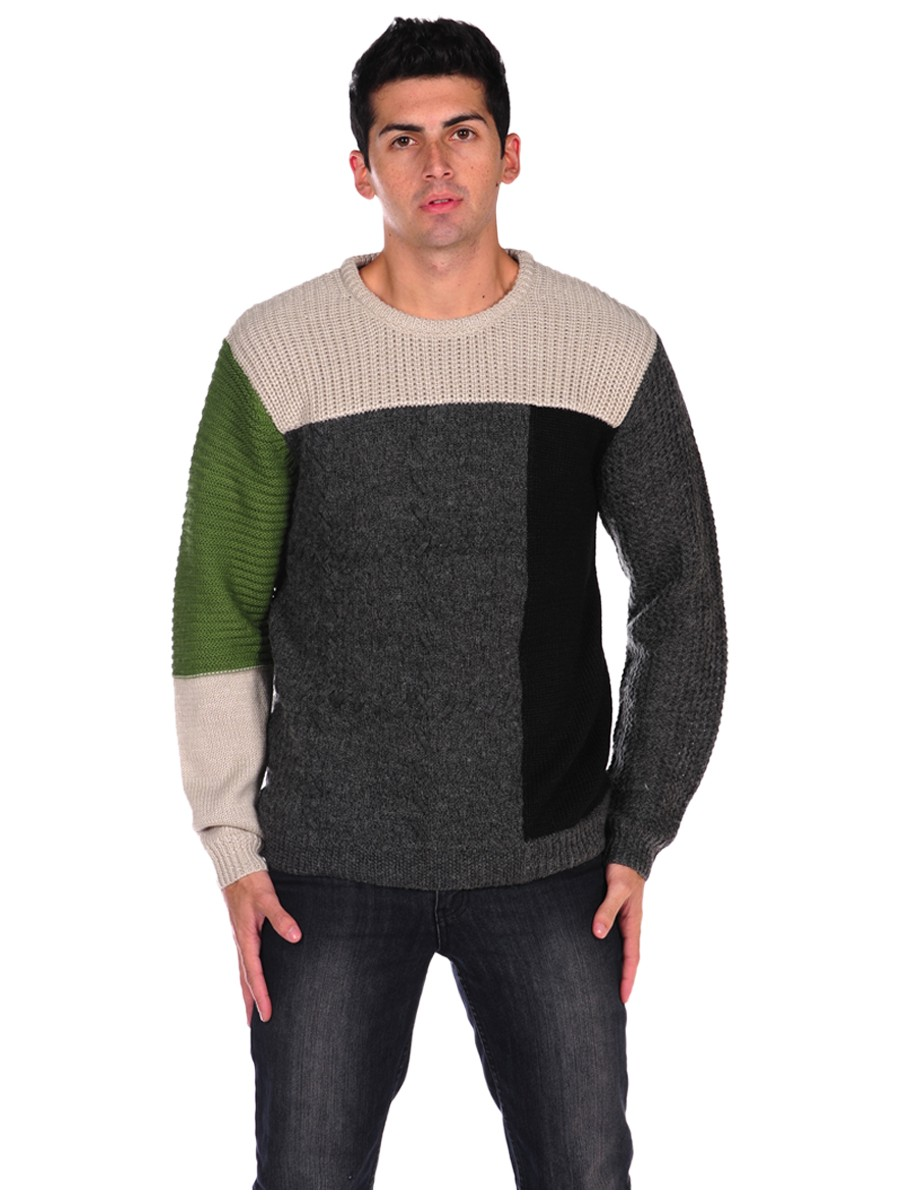 hisoka-color-block-sweater