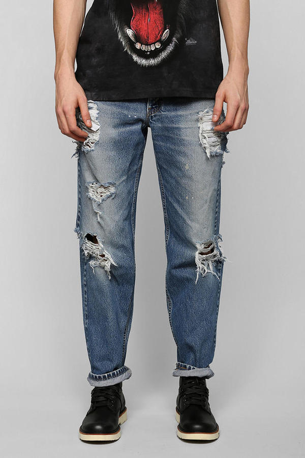 Fresh Trend: Distressed Denim by Chris Law | Details Style Syndicate