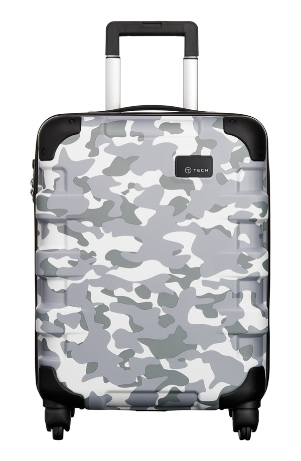 camo luggage