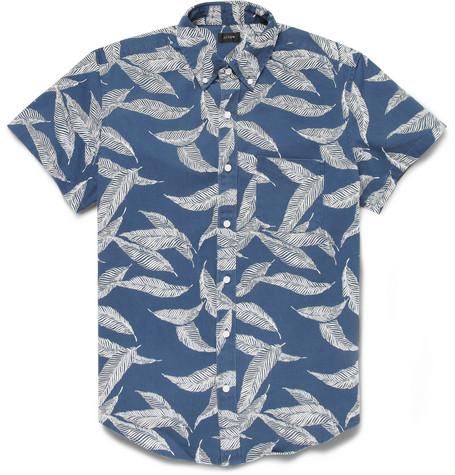 trend printed short sleeve
