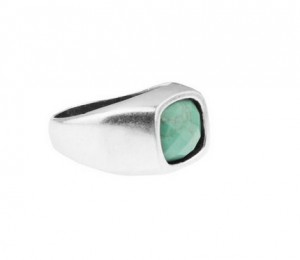 The Facet Ring in Steel by Mister